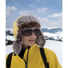 Breakaway Sherpa Winter Hat in Yellow
