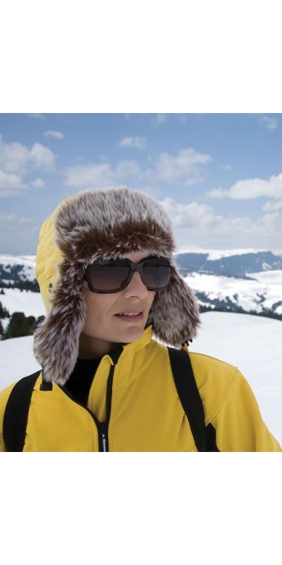 Breakaway Sherpa Winter Hat in Yellow