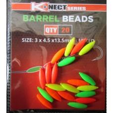Inova barrel beads