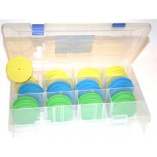 Leeda Rig storage box with 24 winders