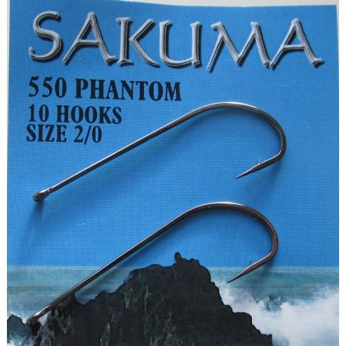 Pack of 10 Sakuma 560 Stinger Hook Size 2//0