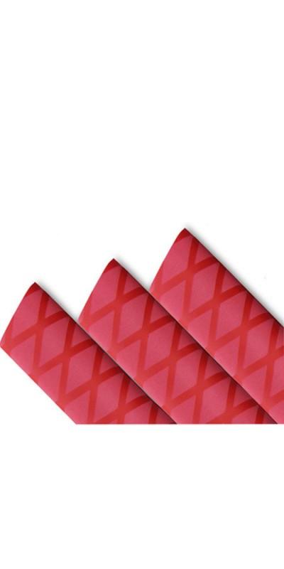 Red on Red diamond shrink tube
