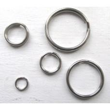 Stainless Steel Round Split Rings