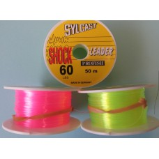 SYLCAST shock leader 50m spools