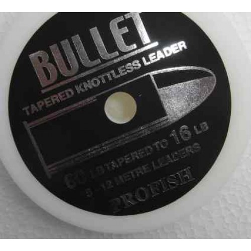 Bullet Tapered Shock Leaders For Sea Fishing