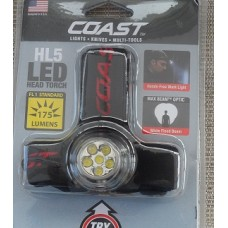 Coast led head torch.Night fishing headlight