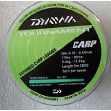 Tapered shock leaders Carp 12-30lb